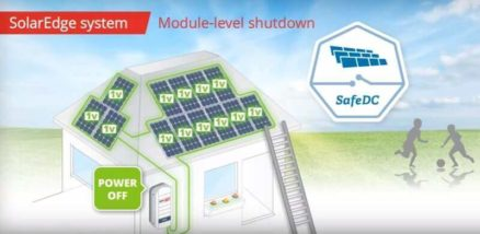 SolarEdge Module Level shutdown on PV solar panels