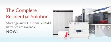 The Complete PV Solar Residental Solution