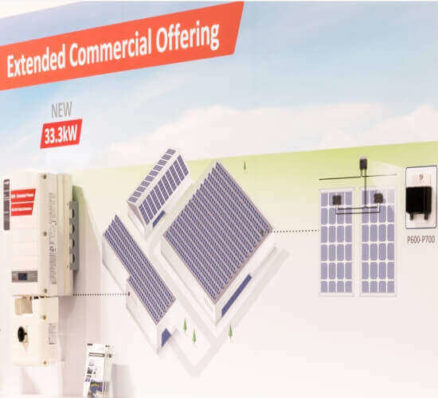 Extended commercial offering for Solar PV installations