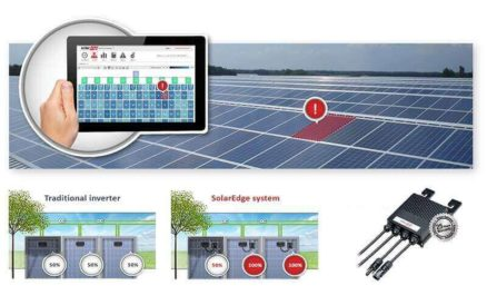 Solarlife monitoring with SolarEdge Intelligent PV solutions