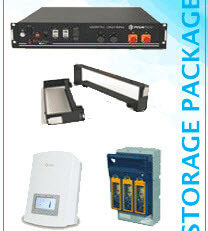 Storage Package - Solar PV Installation