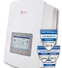 Solis Energy Storage 3.0kW Hybrid Inverter with DC switch